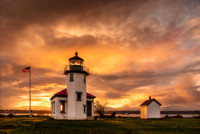 Pacific Northwest Lighthouses, Bridges, and Boats 14