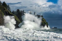 Wild Waves at Cape Disappointment