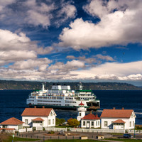 Beautiful Washington State Ferries 5