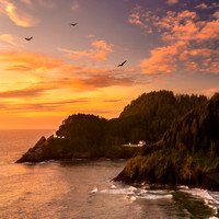 Pacific Northwest Lighthouses, Bridges, and Boats 16