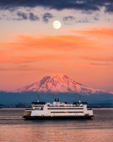 Beautiful Washington State Ferries 20